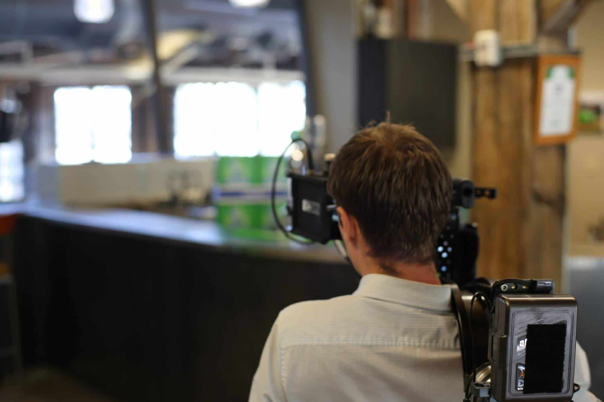 Camera Operator at Media One Creative Video Shoot