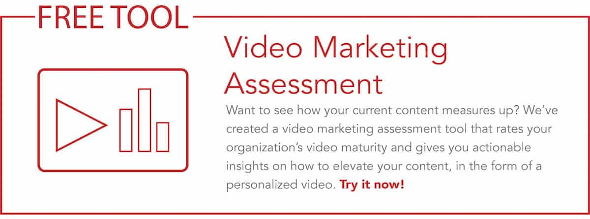 Link to try the video marketing assessment tool
