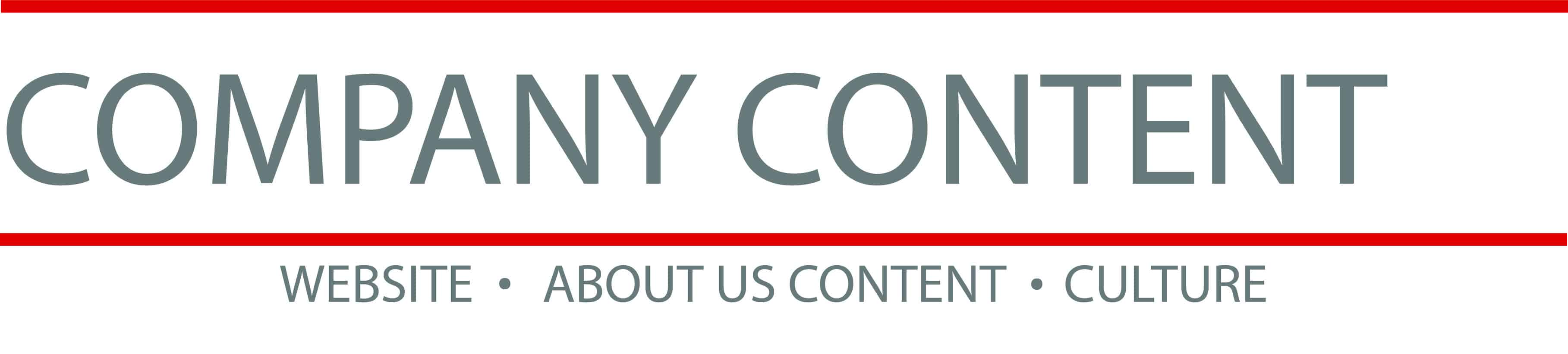 Company Content Title Graphic