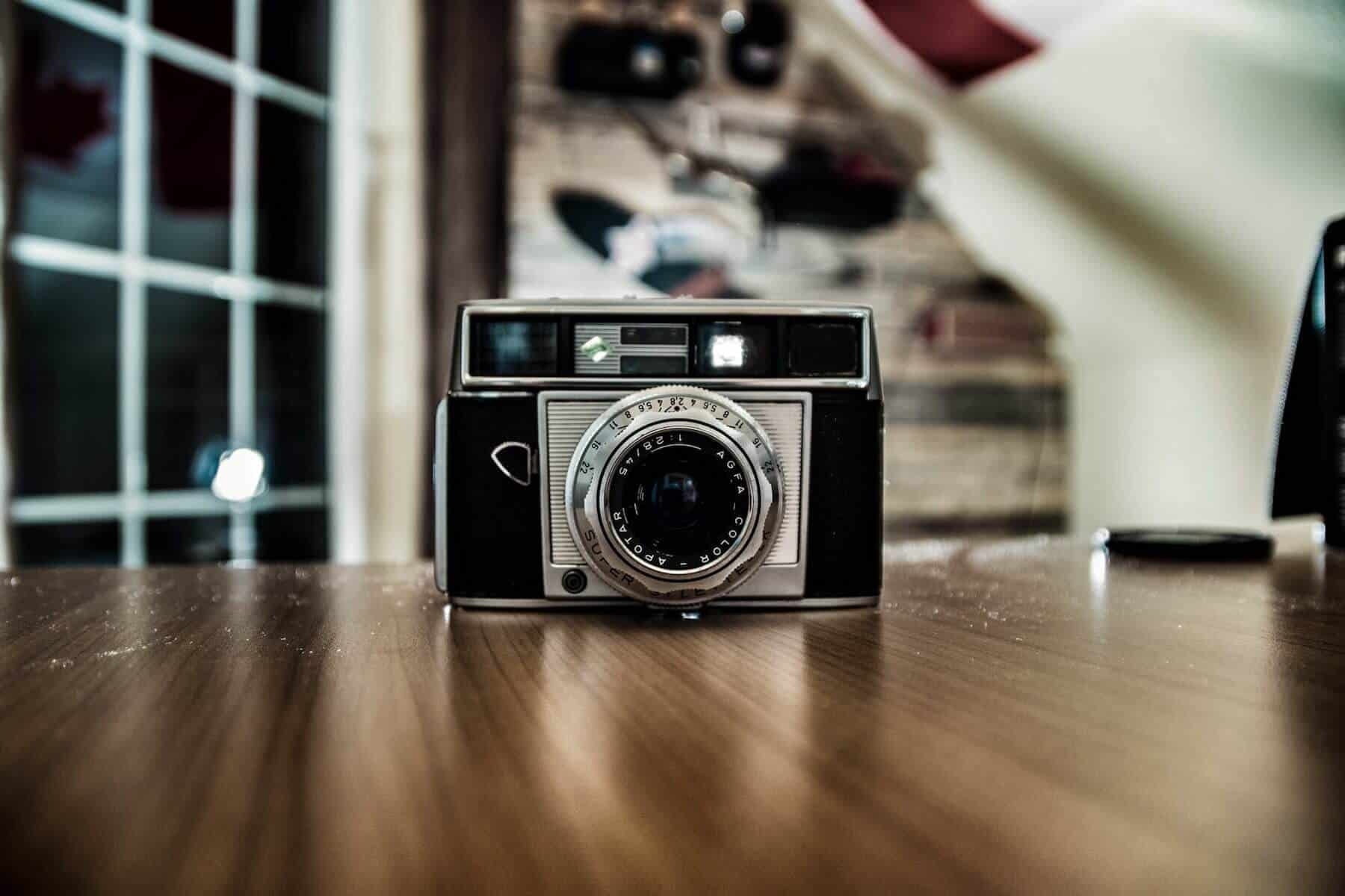 Photo of old camera