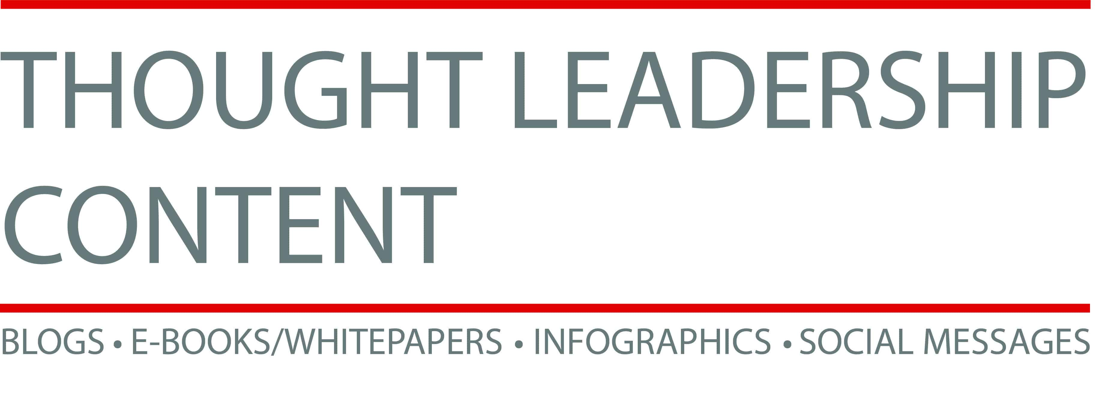 Thought Leadership Content Graphic for Sales